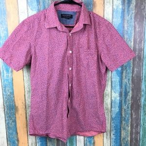 Banana Republic Men's Pink Button Down Shirt